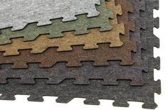 8mm Carpet/Rubber Tiles - Signature Series - Interlocking Rubber Backed Carpet Tile Squares