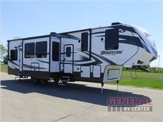New 2016 Grand Design Momentum M-Class 350M Toy Hauler Fifth Wheel at General RV | North Canton, OH | #126271