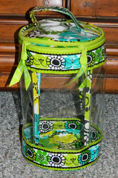 Clear Lotion Bag | Vera Bradley - Lime's Up, $24.00
