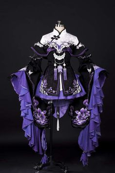Cosplay Dress, Cosplay Outfits, Anime Outfits, Cosplay Costumes, Lolita Cosplay, Old Fashion Dresses, Fashion Outfits, Hanfu, Pretty Outfits