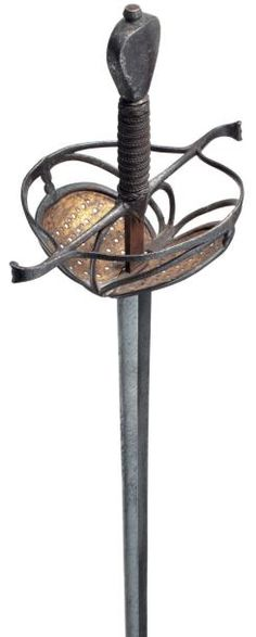 German Broadsword from The Thirty Years' War  Dated: circa 1620-1630 Culture: German Measurements: overall length: 110.3 cm; blade length: 94 cm