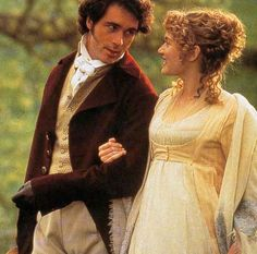 Sense & Sensibility - Marianne (Kate Winslet) & Willoughby (Greg Wise)