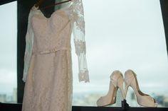 Spato de noiva peep toe Casamento no Tivoli | Aline + Gabriel | Vestida de Noiva | Blog de Casamento por Fernanda Floret