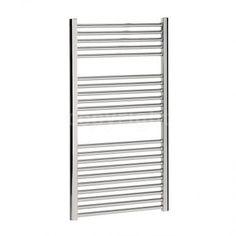 Bauhaus Design - Heated Towel Rail 1110mm x 500mm Straight Chrome