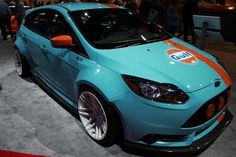 Gulf Racing Edition Ford Focus ST brought to you by Tjin Edition and Universal Technical Institute.