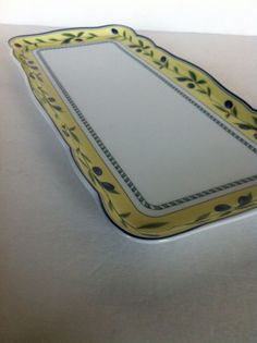 Wedgwood Tuscany Collection Porcelain Hutschenreuther Medley Large Sandwich Tray #HUTSCHENREUTHER