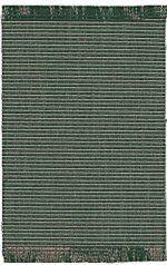 Green Striped Rug