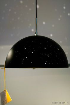 We loved the Starry Light Lamp by Budapest-based agency Anagraphic. Each Starry Light, made by hand in Budapest, is covered with tiny holes which, when illuminated, cast a light that mimics different constellations in the night sky. The lamp can be custom built allowing the user to choose which constellation they wish to see projected on the walls and ceiling.