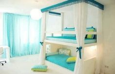 Trying o find a cool way to share a room!:)