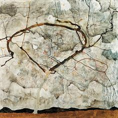 Autumn Tree in Movement By Egon Schiele Canvas Print #8176