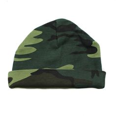 Crazy Baby Clothing Infant Baby Beanie One Size in Woodland Camo Camo Baby Clothes, Camo Baby Stuff, Funny Baby Gifts, Funny Babies, Newborn Hats, Newborn Outfits, Baby Beanie Hats, Knit Beanie, New Baby Girls