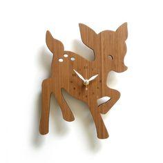 Fawn Clock