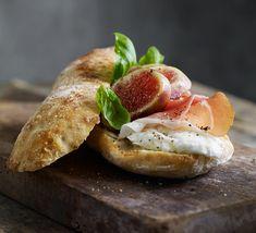 Sandwich med Figen og Parmaskinke