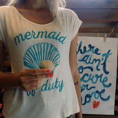 Sereiando  #lojaamei #verão #sereia #tshirt #concha #poster