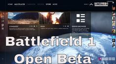 Battlefield 1 PC BETA first look