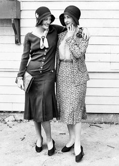 Joan Crawford, and Kay Hammond - 1930's fashion