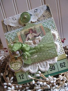 victorian st patricks day cardst patties by cherrysjubileecards