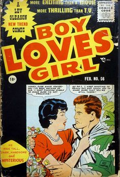 Comic Book Cover For Boy Loves Girl v1 #56