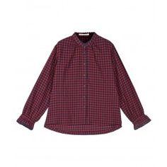 Red Check Sophia Shirt