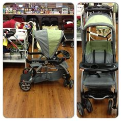 Baby Trend Sit N Stand stroller. Kid to Kid price $89.99!
