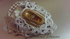 Winter Wonderland Soutache necklace