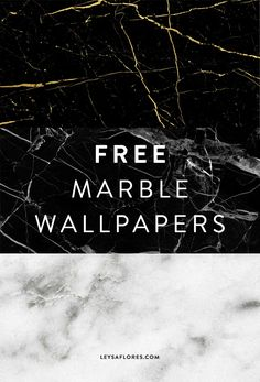 Free marble wallpapers by Leysa Flores - Download link in blog post comment