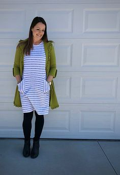 the 'it' spring dress you will want to add to your closet! Eco Friendly Fashion, Friend Outfits, Shirt Dress, T Shirt, Spring, Clothes, Dresses, Style, Supreme T Shirt
