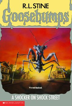 R L Stine Goosebumps #35 - A Shocker On Shock Street