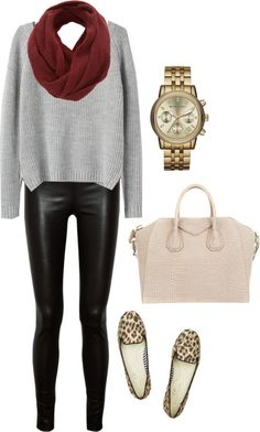 Have a pair (leather leggings)..luv them! Need the leopard loafers next! Get them here...