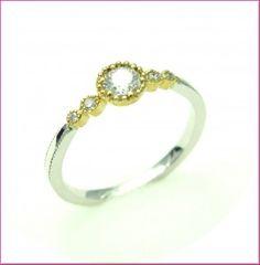 milgrain antique ring