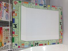 Board Game Themes, Board Ideas, Classroom Design, Classroom Themes, Monopoly Classroom, Monopoly Themed Parties, Library Games, Homemade Board Games, Summer Camp Themes
