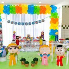 festa tema pequerruchos - Pesquisa Google