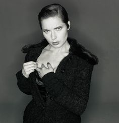 ☆ Isabella Rossellini | Photography by Michel Comte | For Dolce and Gabbana Campaign | Fall 1994 ☆ #Isabella_Rossellini #Michel_Comte #Dolce_and_Gabbana #1994