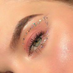 Makeup Eye Looks, Eye Makeup Art, Cute Makeup, Glam Makeup, Pretty Makeup, Skin Makeup, Makeup Inspo, Eyeshadow Makeup, Makeup Inspiration