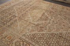 Antique Tabriz Rug – Apadana Fine Rugs