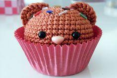 My second amigurumi bear cupcake