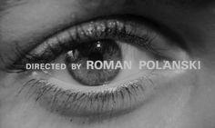 "Catherine Deneuve in ""Repulsion"" (1965, Roman Polanski) / Cinematography by Gilbert Taylor"