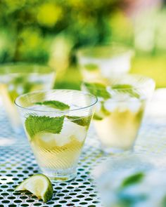 Transport yourself to a summery evening in Northern Italy with a refreshing cocktail of prosecco, gin and elderflower cordial.