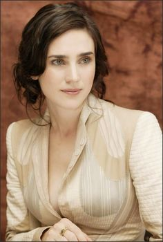 Jennifer Connelly is her own person. She never comes off as fake or trying to be something she's not.