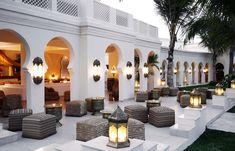 Baraza bar terrace. Baraza Resort & Spa, Zanzibar. © Baraza Resort & Spa