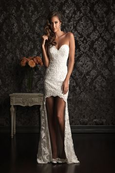 Allure Bridals- this would be a great dress for the reception