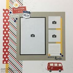 jd designs: Stamp of the Month Blog Hop - The Long Way Home #CTMHMagical #D1660InkBlot #D1647DocumentingMoments