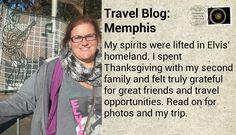 Travel Blog: Thanksgiving in Memphis  #travel #thanksgiving #memphis #tennessee #elvis #graceland #sunstudio