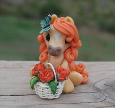 Orange Sugar Wee pony - 2016