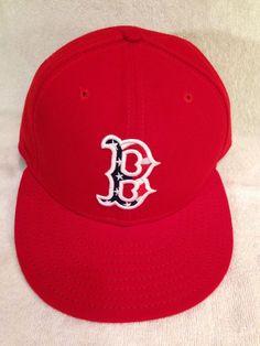 low priced b598b 6dbb0 Boston Red Sox New Era Hat Golf Baseball Cap Bases R Loaded Size 7 3