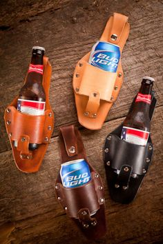 The Plano Beer Holster from Holestar and Bourbon & Boots