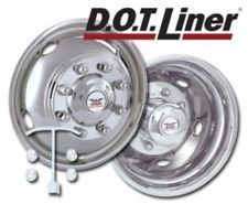 "Phoenix USA D.O.T. Mount Dual Wheel Simulators for Ford/Freightliner/International, Full Set for 19-1/2"" Wheels"