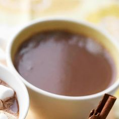 Peanut Butter Cocoa-Slow Cooker Drinks