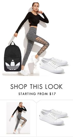 """""""sport"""" by selma-b90 ❤ liked on Polyvore featuring Lacoste and Topshop"""