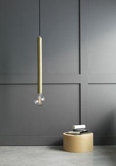 Long taklampa pendant lamp. Produktutvecklad av Maja Norburg